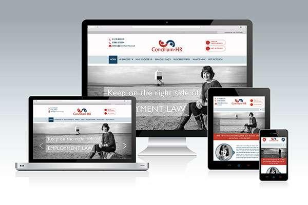 Website design for Somerset HR company