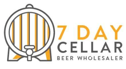 Old-7-Day-Cellar-Logo Branding for 7 Day Cellar Beer Wholesaler