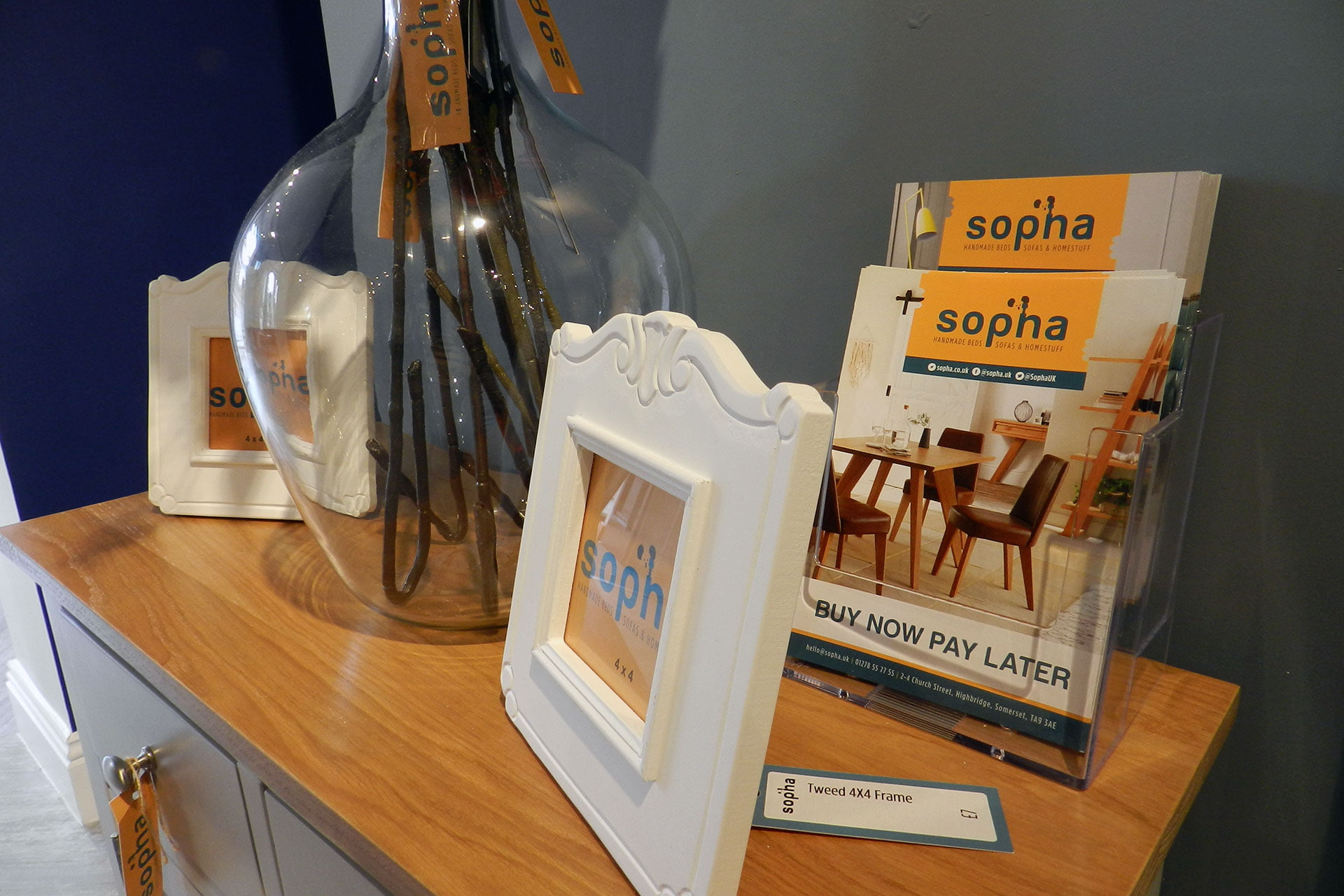 Sopha-beds-retail-leaflet-design-Somerset The Importance of Branding & Graphic Design in a Business