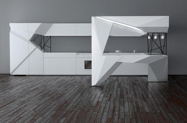 Origami Mi Kitchen By Olga Kryukova