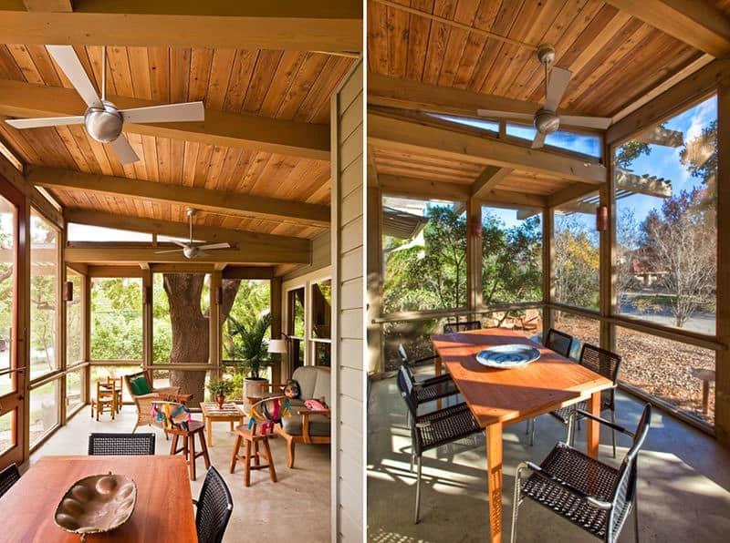 Enclosed Front Porch Designs Houses