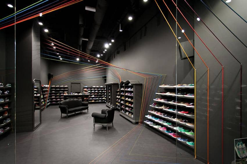 Run Colors Concept Store By Modelina