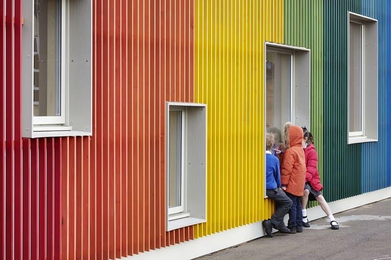 Colorful Kindergarten In England