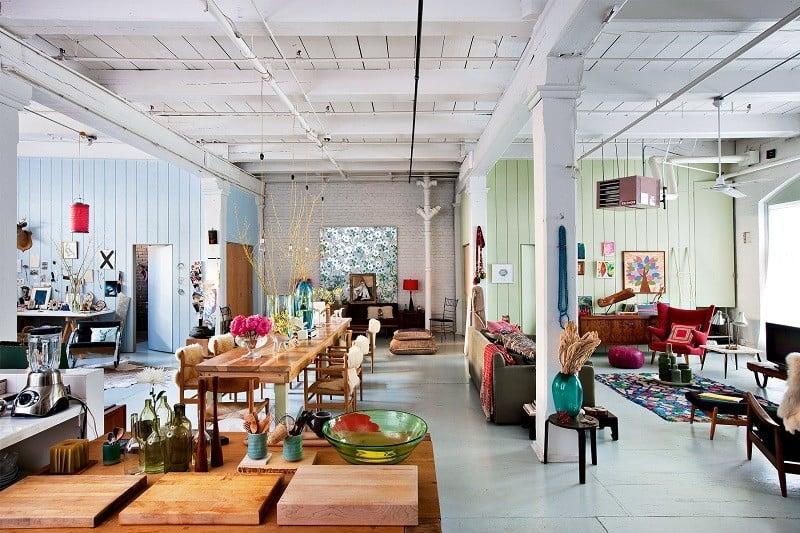 Brooklyn Apartment In Modern Boho Style
