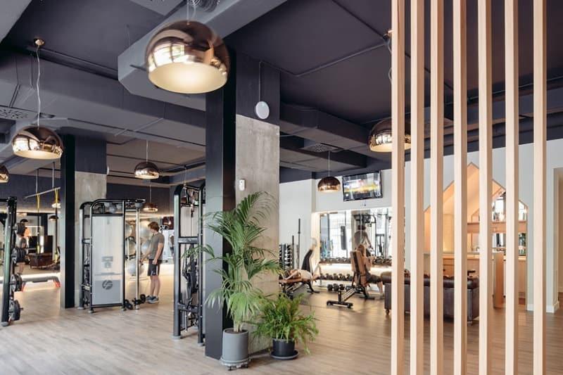 Creatively Designed Fitness Center In Madrid