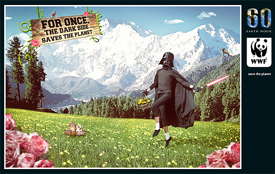Dark Side Saves The Planet