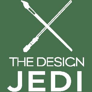 The Design Jedi | Logo | Reversed