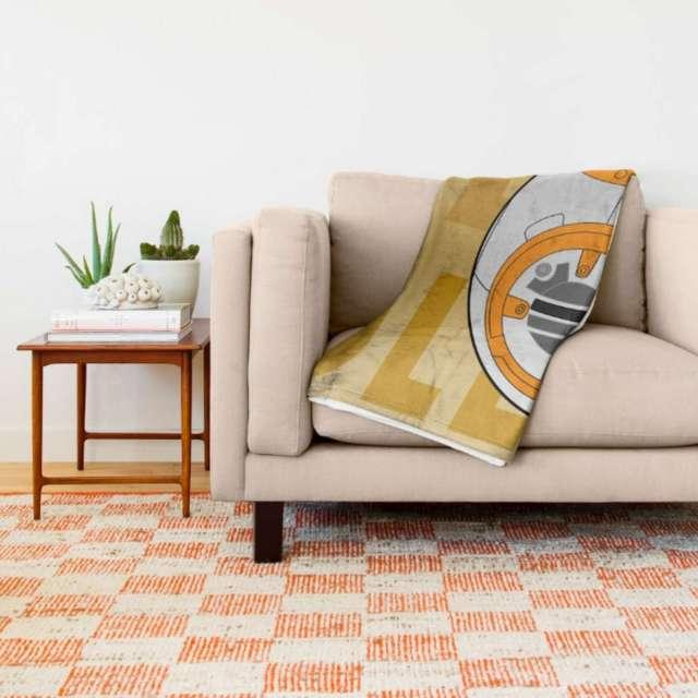 BB8 Design | Throw Blanket | The Design Jedi
