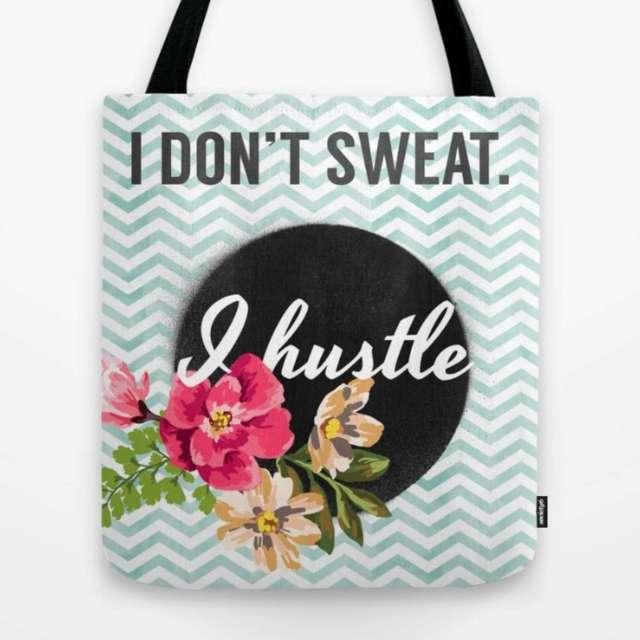Hustle Design | Tote Bag | The Design Jedi