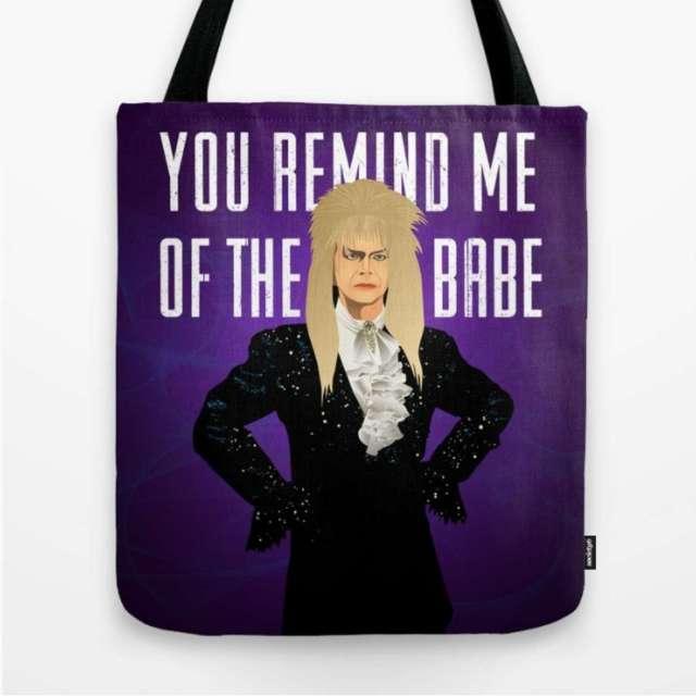 Labyrinth Design (David Bowie - Jareth) | Tote Bag | The Design Jedi