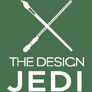 The Design Jedi   Logo   Reversed