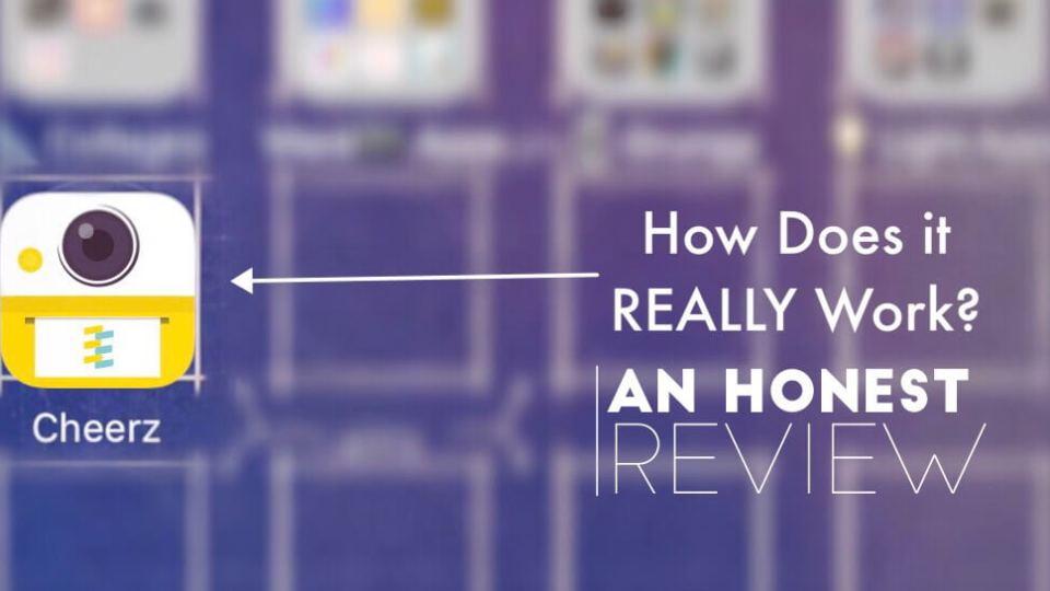 The Design Jedi   Honest App Review - Cheerz