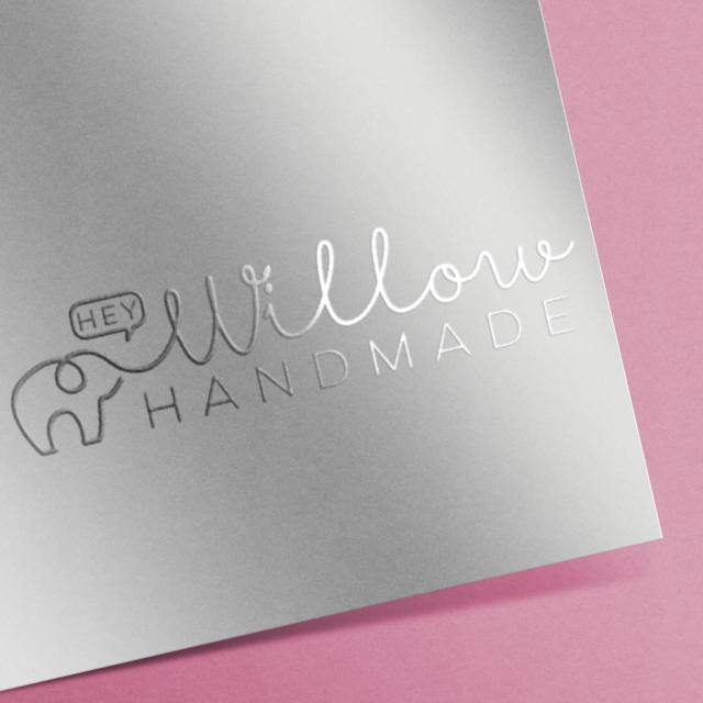 Hey Willow Handmade | Logo Design | The Design Jedi