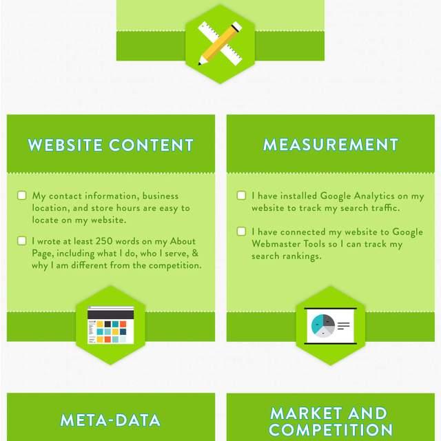 SEO Starter Tips Infographic | Infographic Designs | The Design Jedi