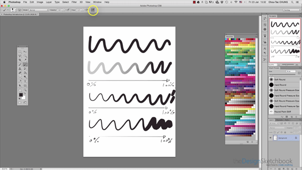 Introduction to Photoshop Interface-for-beginner-The DesignSketchbook-feature
