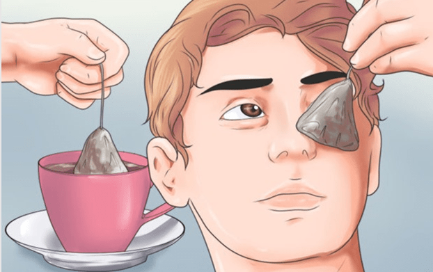 Tea bags Eye bag