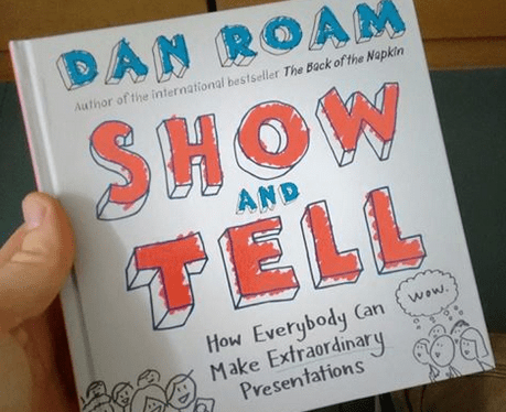 Dan Roam Show and tell