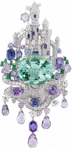 Van Cleef and Arpels- Disney Castle inspired - Jewel