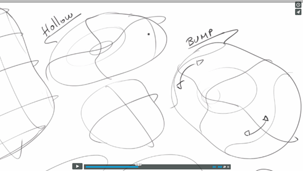 Draw 3d volumes with contour lines - the design sketchbook online class
