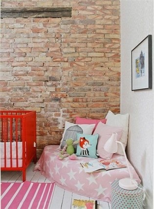 All you need for a comfy reading nook is a handful of colourful scatters and floor cushions | via http://pinterest.com/pin/226446687486487777/