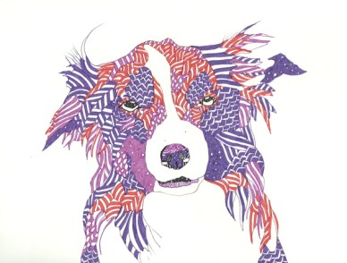 Natalia Segerman - Sheep Dog {The Design Tabloid}