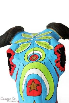 Shongololo Studio - Painted Skulls {The Design Tabloid} (4)