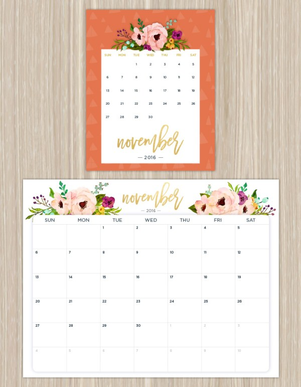 To DOWNLOAD this calendar please go to: https://www.ftd.com/blog/share/printable-calendars-for-a-more-floral-2016