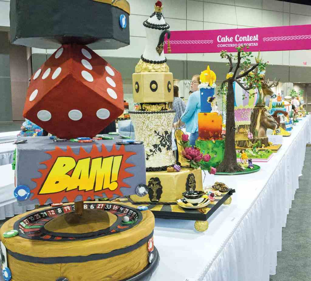 Cake decorating contests and some of the world's best cake designs are on display at the Cake Fair. photo credit: The Americas Cake Fair