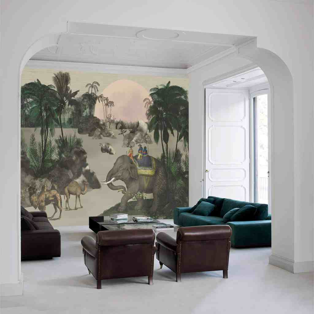 Indie wallpaper design from the Palingenes Collection, Skinwall