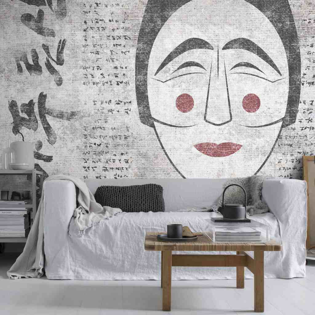 Korean Drama wallpaper design from the Palingenes Collection, Skinwall