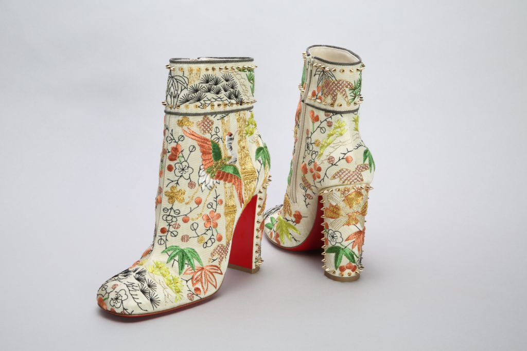 Christian Louboutin Boots. Photo credit: The Kyoto Costume Institute