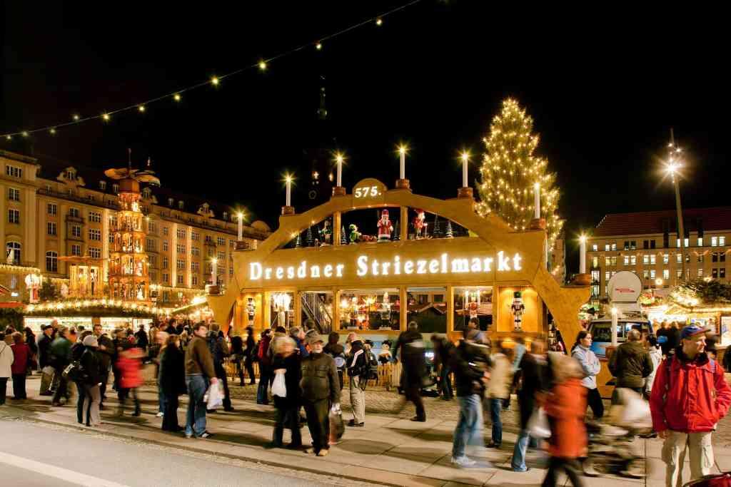 Striezelmarkt Dresden Photo credit: Dresden Tourism www.dresden.de/tourism