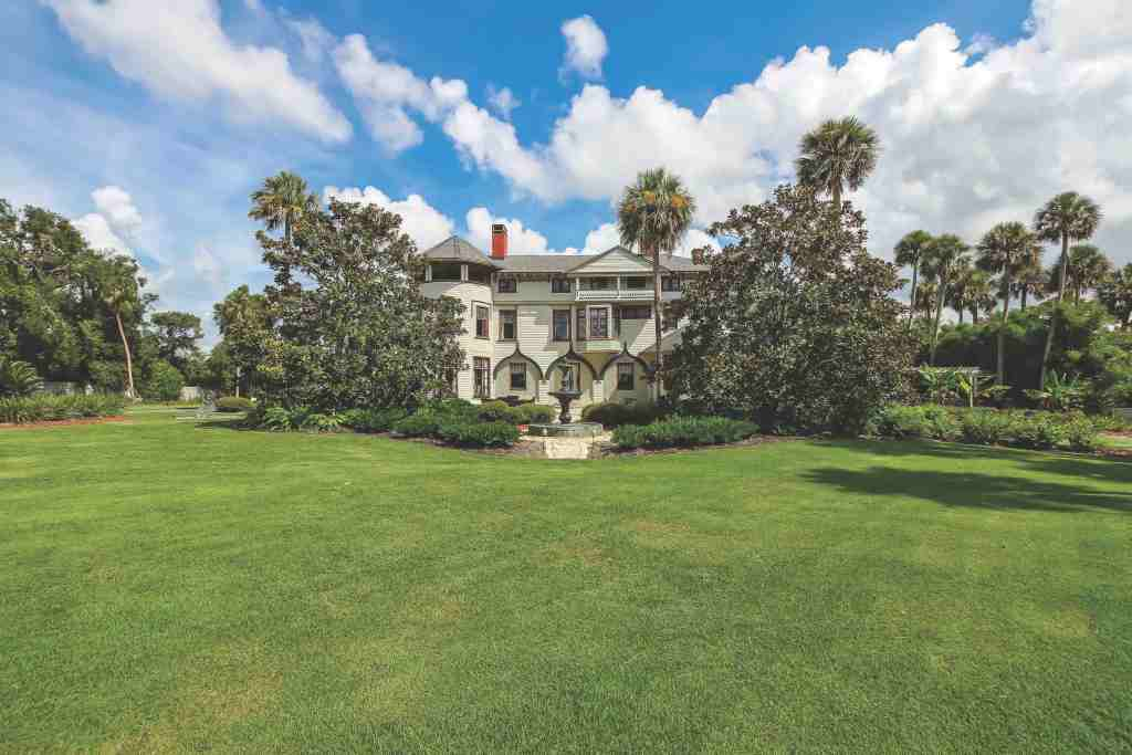 Built for Florida's first snowbird, famed hat maker John B Stetson the opulent 3 story Victorian mansion was rescued from obscurity 10 years ago to become the top-rated landmark tourist attraction in all of Florida.