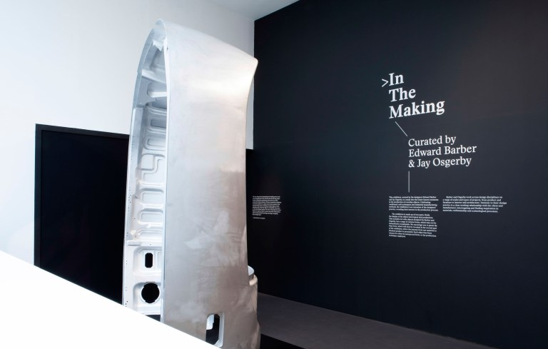 In the Making was an exhibition curated by Edward Barber and Jay Osgerby at the London Design Museum. Image: supplied.