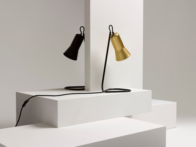 Silhouette table lamp by Ross Gardham for Stylecraft. Image: Stylecraft
