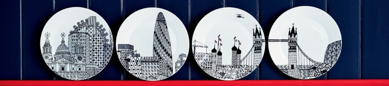 London Calling by Charlene Mullen for Royal Doulton