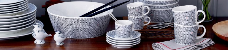 Blackwork by Charlene Mullen for Royal Doulton