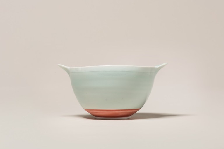 Square Bowl with red base by Adam Frew. Photo: supplied