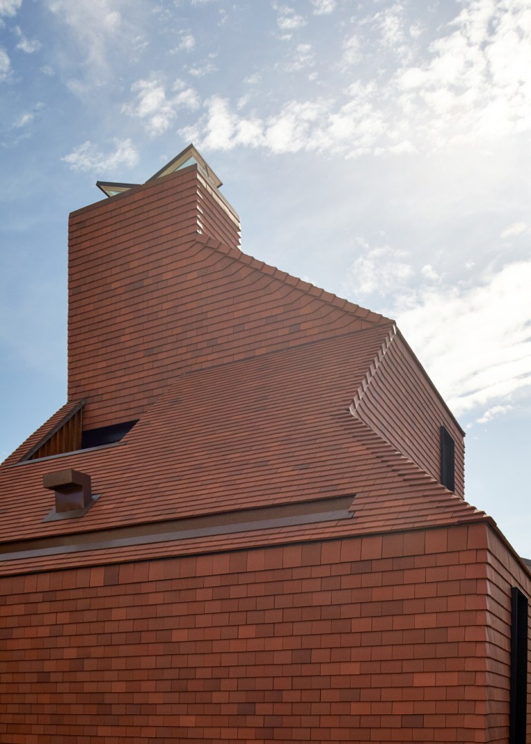 Detail of the clay form, designed by Bosske. Photo: Peter Bennetts