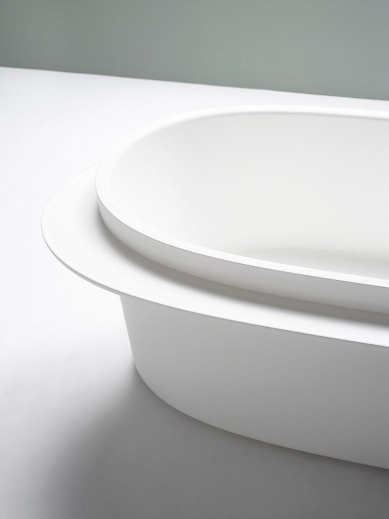 Tableau bathtub designed by Sebastian Herkner for ex.t. Image: supplied