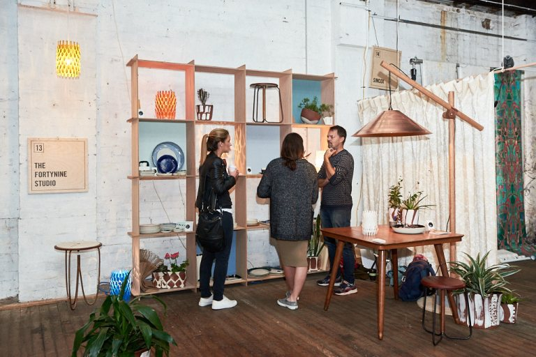 The Fortynine Studio at Factory Design District. Photo: Fiona Susanto
