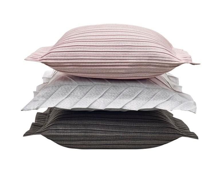 Iittala X Issey Miyake cushions. Image: supplied