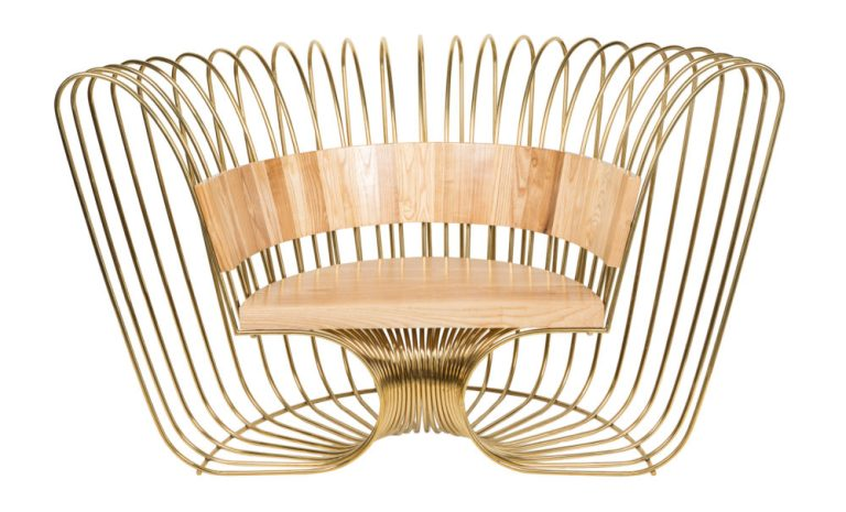 Walarnu (Boomerang) Chair designed by Nicole Monks. Image: supplied