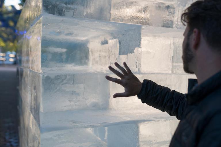 Ice Cube (detail) by Olsen Kundig as part of Seattle Design Festival. Photo: Eirik Johnson