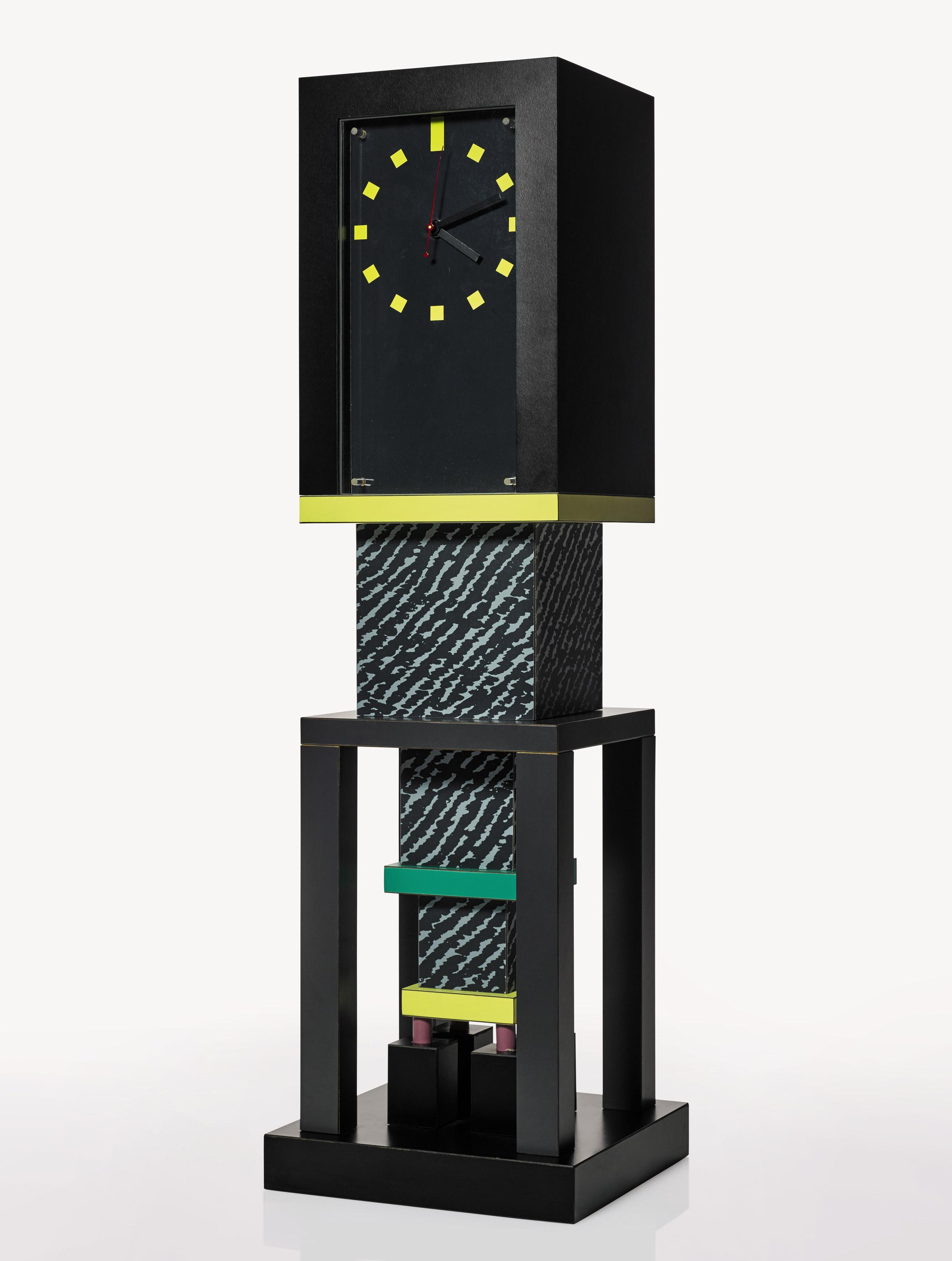 memphis furniture design. metropole clock memphis designed by george j sowden 1982 furniture design a