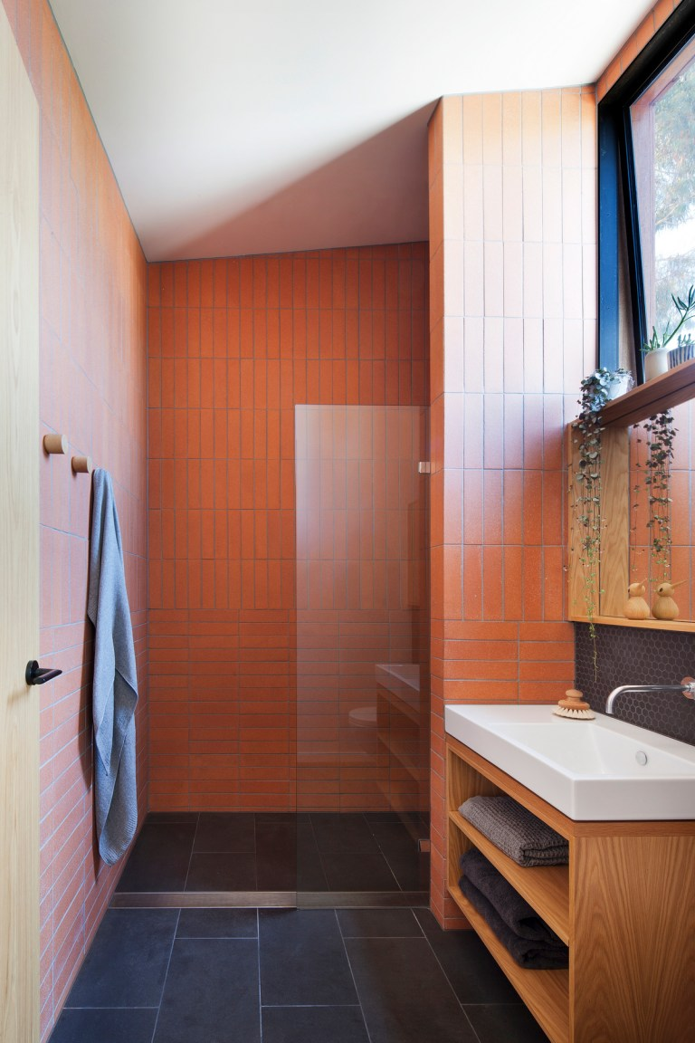 Bathroom, Carlton Cloister House by MRTN Architects. Photo: Shannon McGrath The Design Writer blog