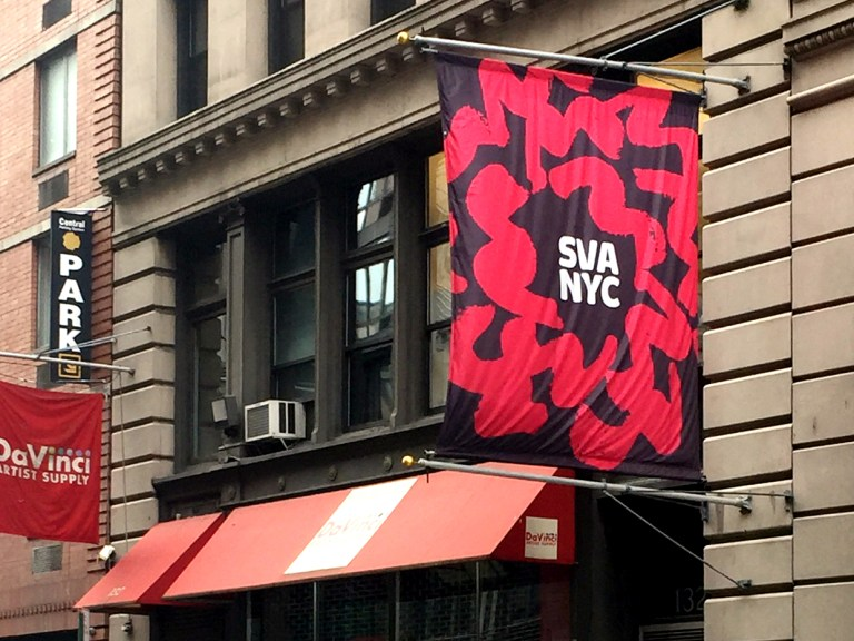 The SVA is where Debbie Millman records her Deign Matters podcast. Photo: Jane Connory