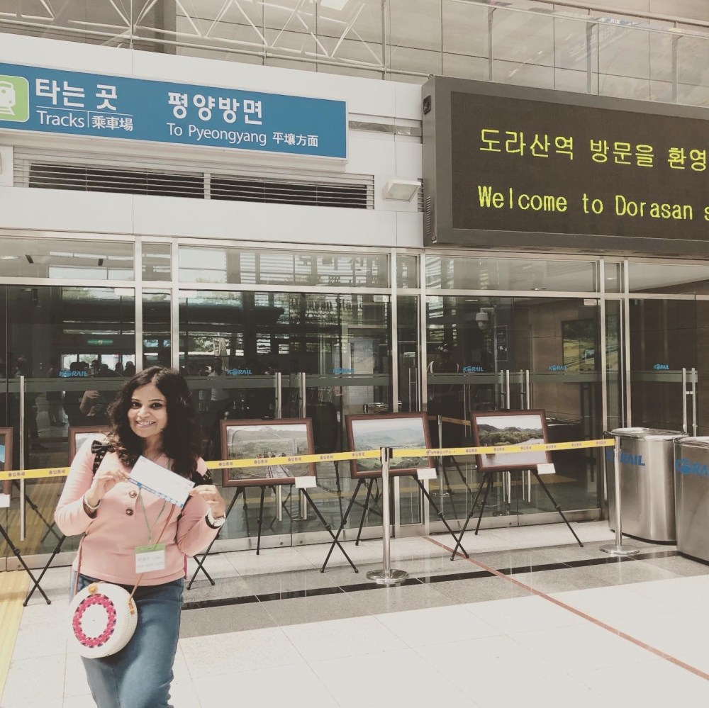 Dorasan Station last station of DMZ tour