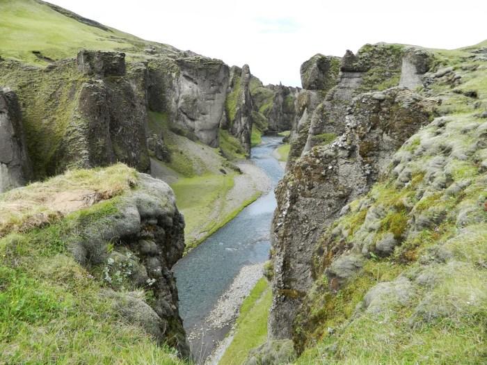 Fjadragljufur canyon