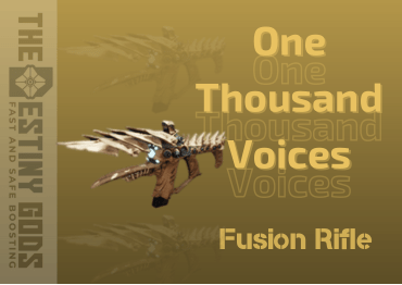 One Thousand Voices Exotic Fusion Rifle